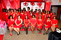 AKA Pink Goes Red: American Heart Association